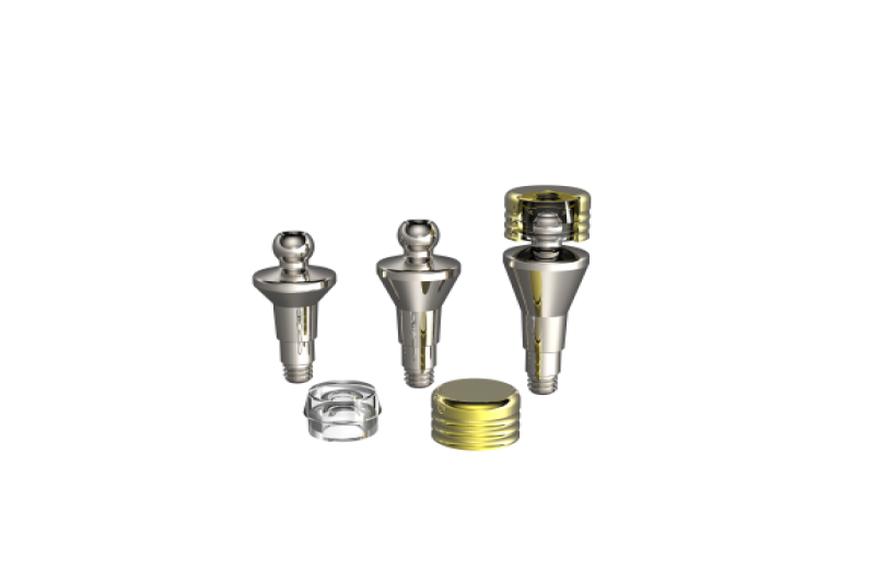 IMPLURA Ball Abutment Slicone Cap